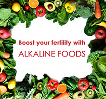 Eating an alkaline diet will boost your fertility!