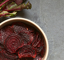 Seasonal beetroot can help with conception