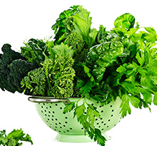Give greens the green light to boost fertility